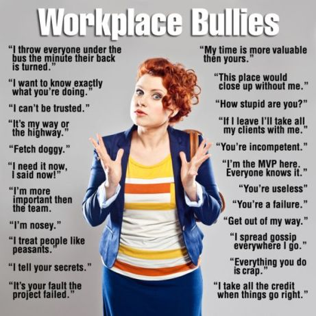 Bullies at work