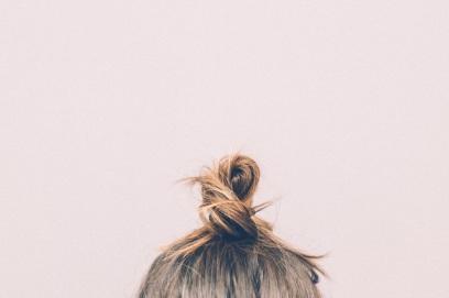 pink-hair-selfie-bun