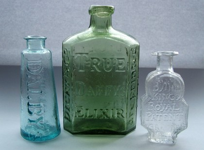 Three_early_medicine_bottles