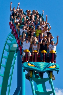 roller coaster dip